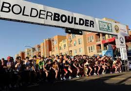 BolderBoulder 2018 start
